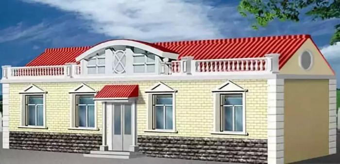 新农村一层房屋设计图
